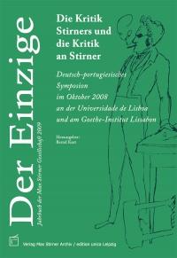 Der Einzige. Jahrbuch der Max Stirner-Gesellschaft, Bd. 2 (2009)