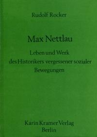 Max Nettlau - Biographie