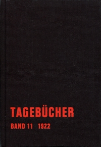 Erich Mühsam - Tagebücher, Bd. 11 - 1922