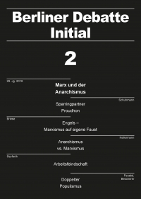 Marx und der Anarchismus