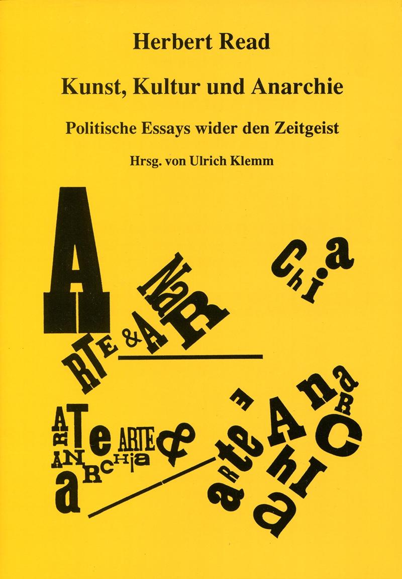 Kunst, Kultur und Anarchie