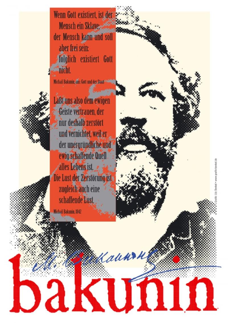 Michail Bakunin - Digitaldruck