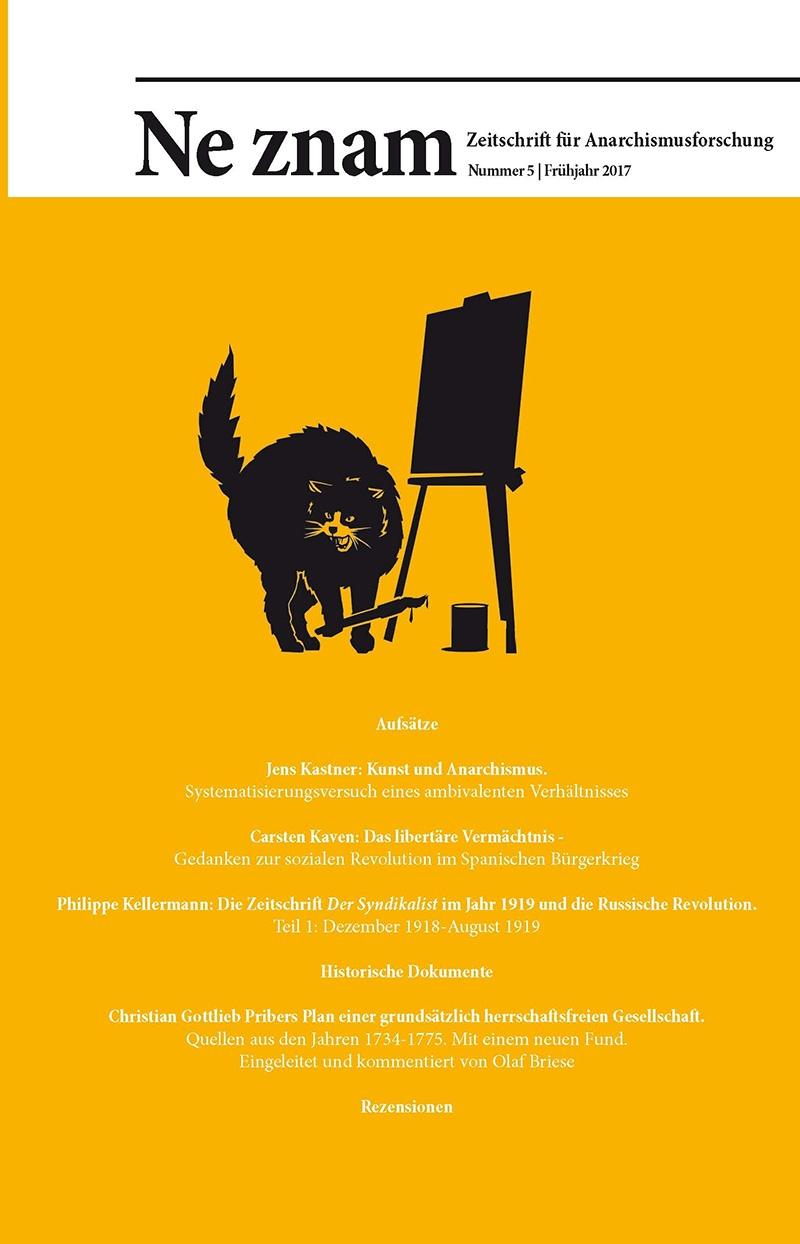 Ne znam - Zeitschrift für Anarchismusforschung, Nr. 05
