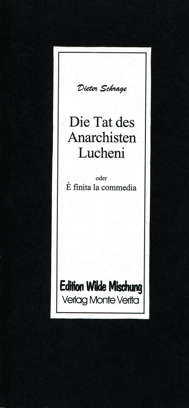 Die Tat des Anarchisten Lucheni