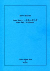 Jean Améry - P-R-A-U-S-T