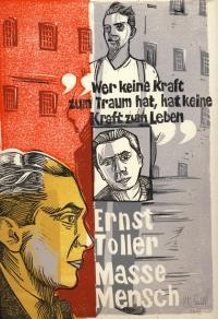 Ernst Toller - Farblinolschnitt