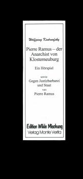 Pierre Ramus - der Anarchist von Klosterneuburg