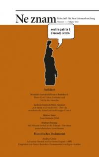 Ne znam - Zeitschrift für Anarchismusforschung, Nr. 11
